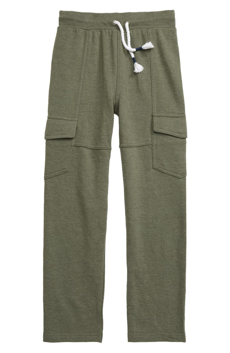 HATLEY Moss Melangé Jogger Pants, Main, color, GREEN
