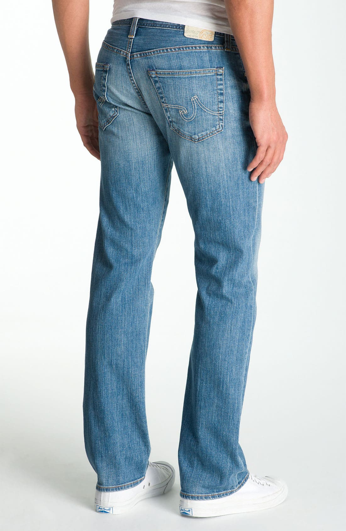 ,                             'Protégé' Straight Leg Jeans,                             Alternate thumbnail 53, color,                             472