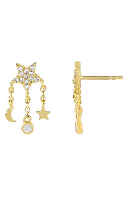 Image of Adina's Jewels Celestial Charm Stud Earrings