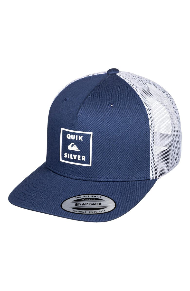 QUIKSILVER Locked In Trucker Hat, Main, color, 400