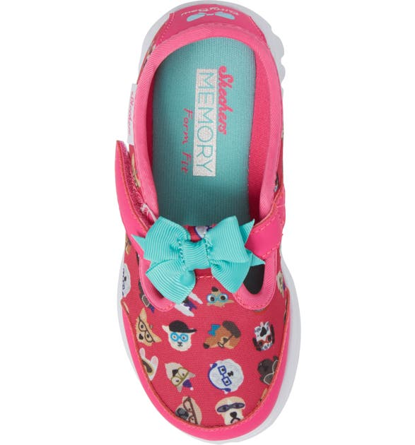 6665ee521d6 SKECHERS Go Walk Bow Wow Sneaker (Baby, Walker & Toddler) | Nordstrom