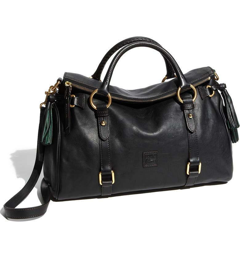 DOONEY & BOURKE 'Florentine Collection' Vachetta Leather Satchel, Main, color, 001