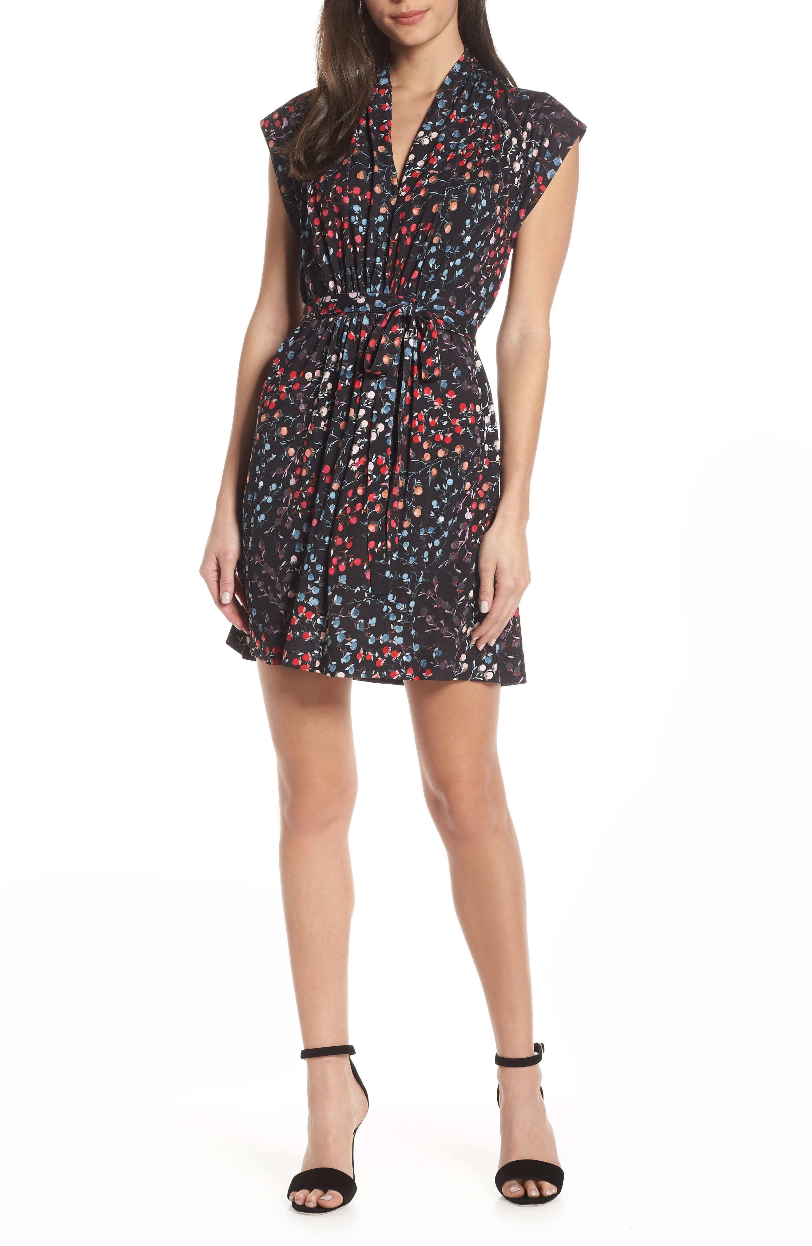 French Connection Frances Jersey Dress, Black