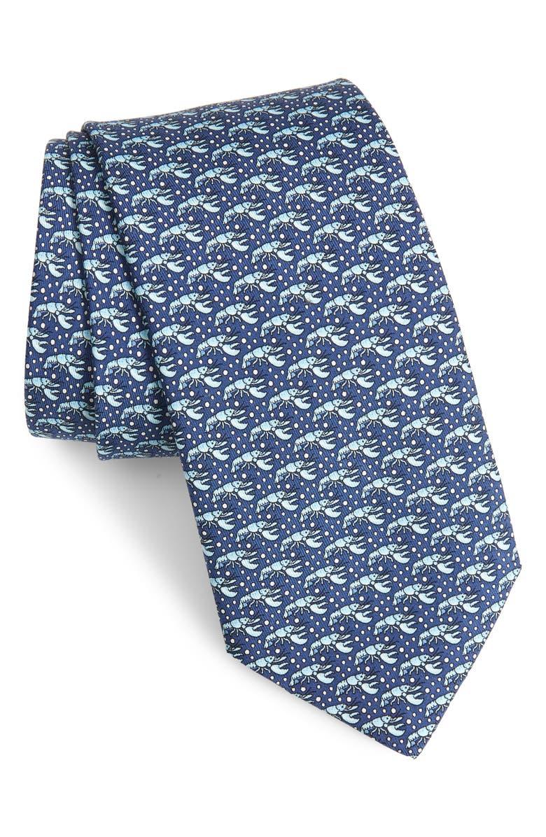 VINEYARD VINES Lobster Pot Silk Tie, Main, color, 461