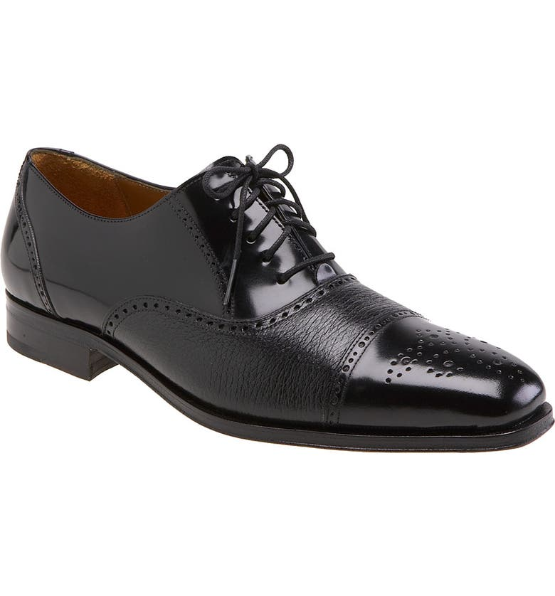 MEZLAN 'Tyson II' Oxford, Main, color, BLACK