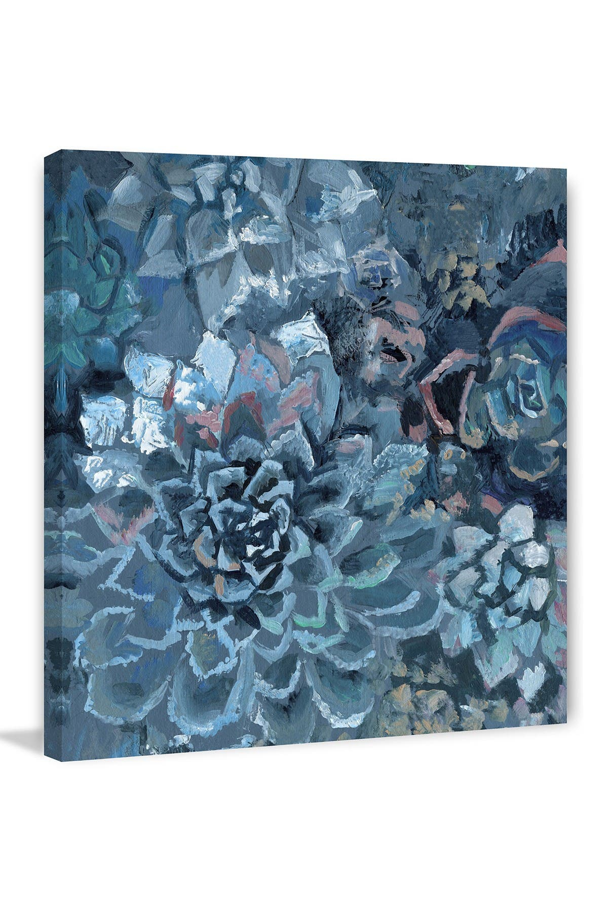 """Image of Marmont Hill Inc. Succulent Garden Painting Print on Wrapped Canvas - 24"""" x 24"""""""