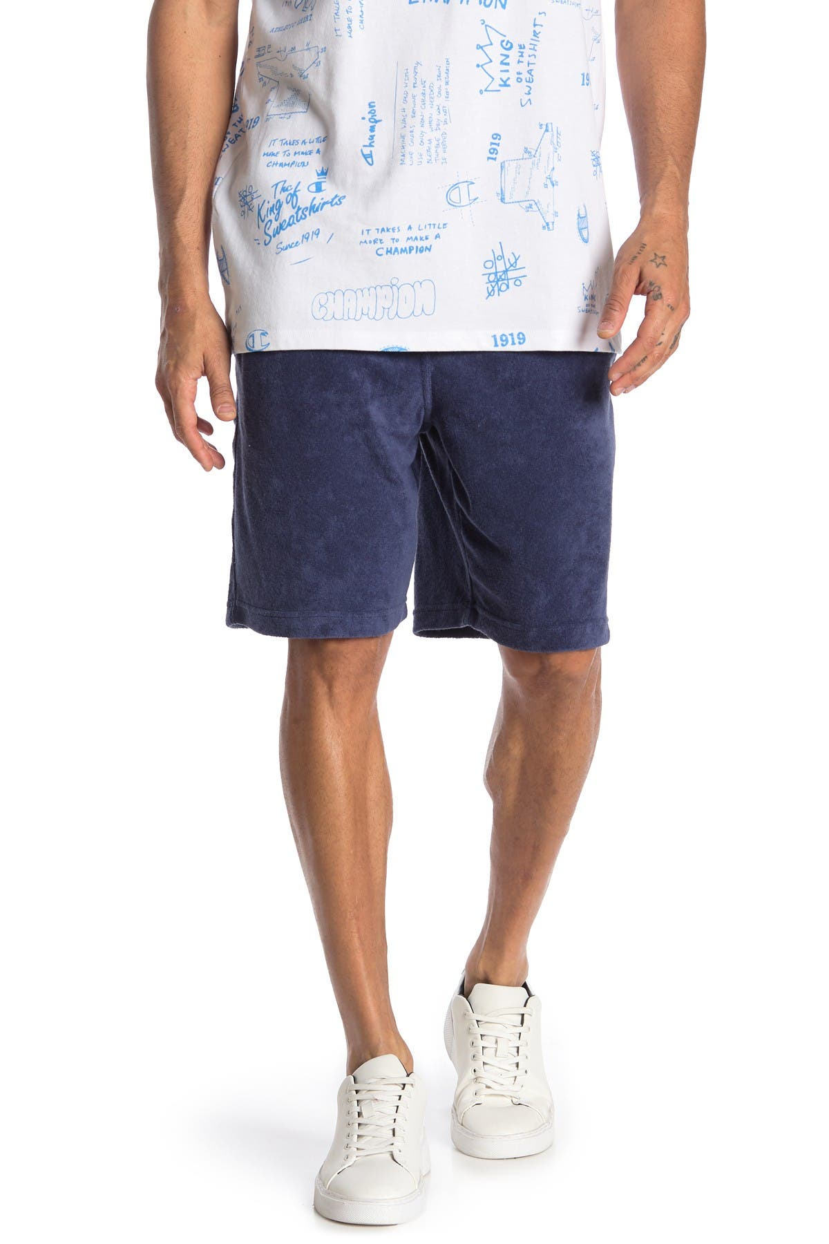 Image of Champion French Terry Knit Shorts