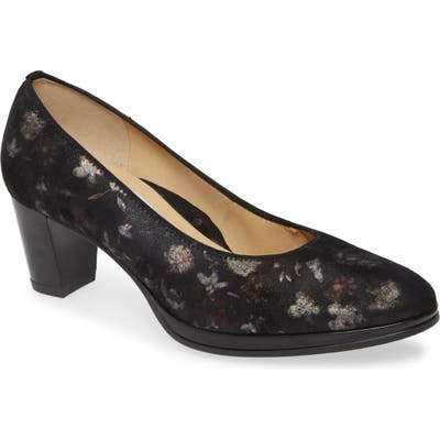 Ara Ophelia Pump, Black