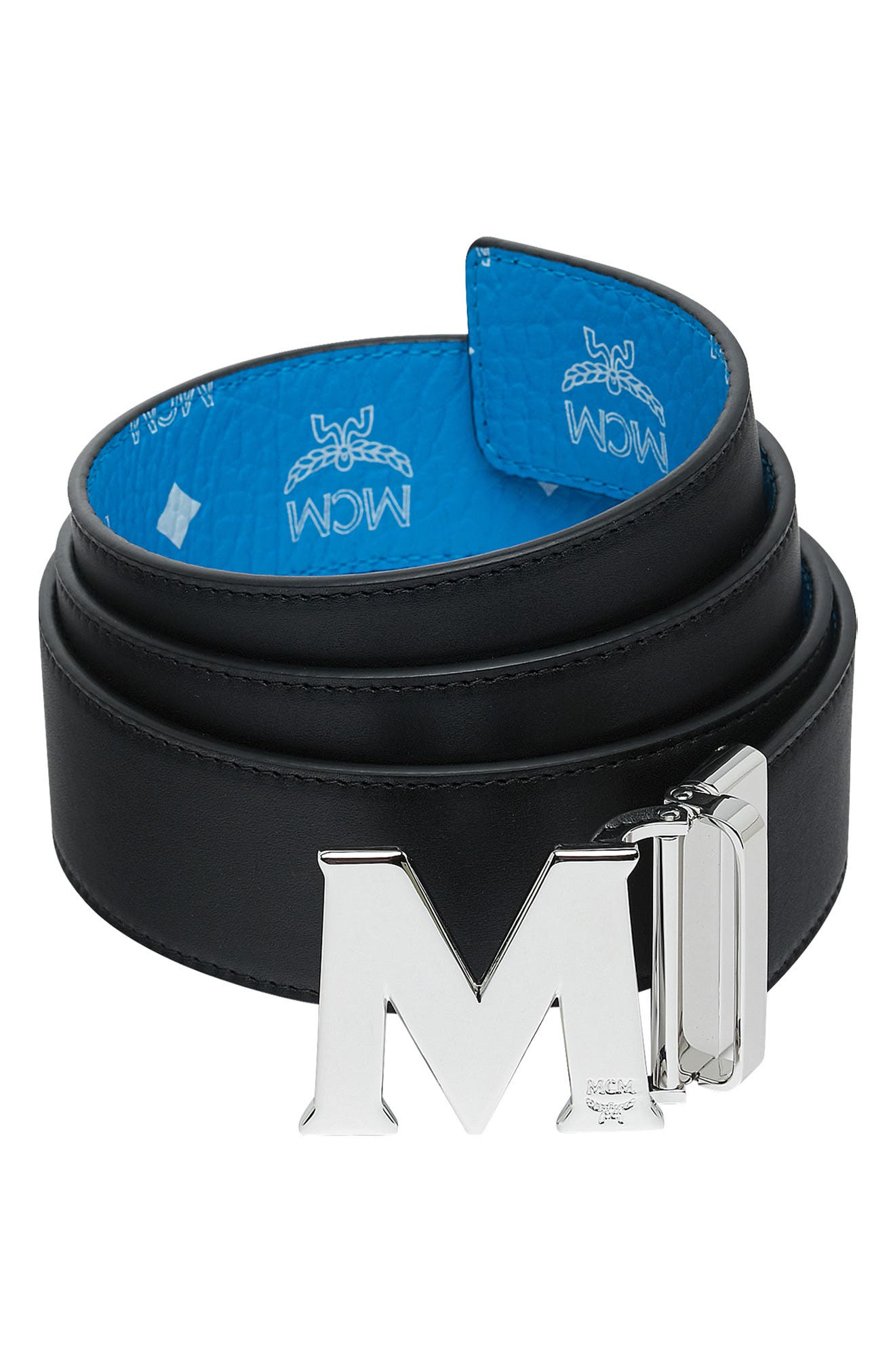 ,                             Visetos Reversible BeltMCM Visetos Reversible Belt,                             Alternate thumbnail 2, color,                             443