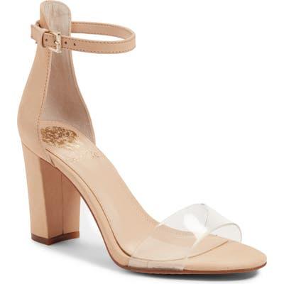 Vince Camuto Corlina Ankle Strap Sandal, Beige (Nordstrom Exclusive)
