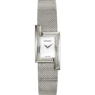 Versace Greca Icon Diamond Bracelet Watch, X 21Mm