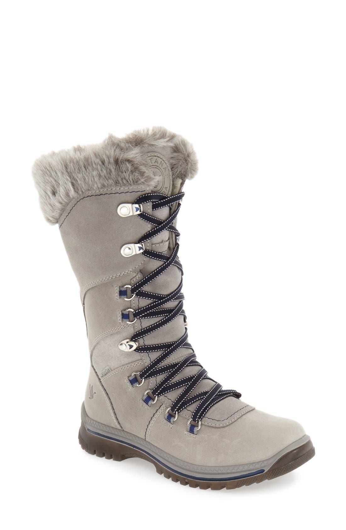 Image of Santana Canada Morella Waterproof Faux Fur Boot