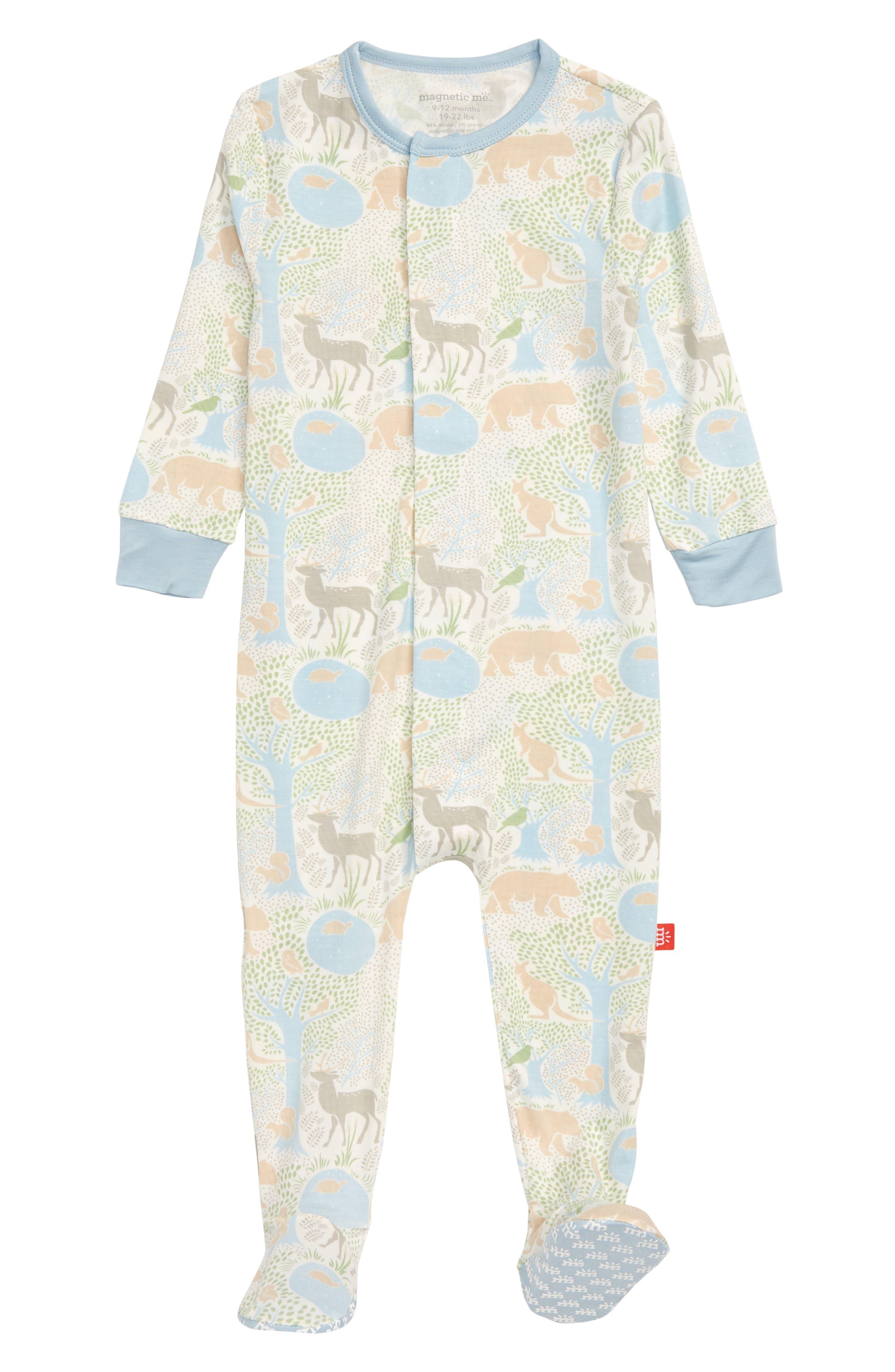 Infant Boys Magnetic Me Acadia Footie Size 912M  Blue