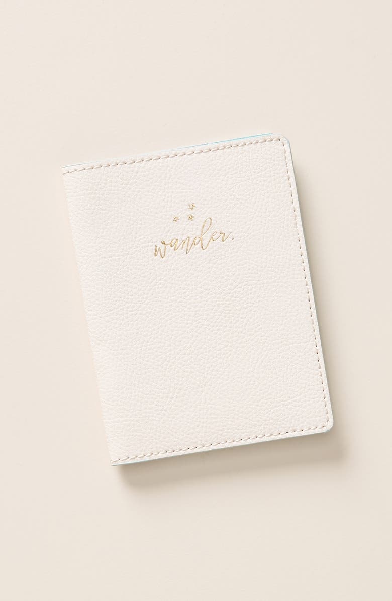 ANTHROPOLOGIE HOME Anthropologie Seraphina Passport Case, Main, color, 650