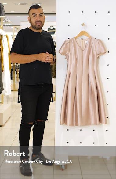 Shine Satin Twill Party Dress, sales video thumbnail