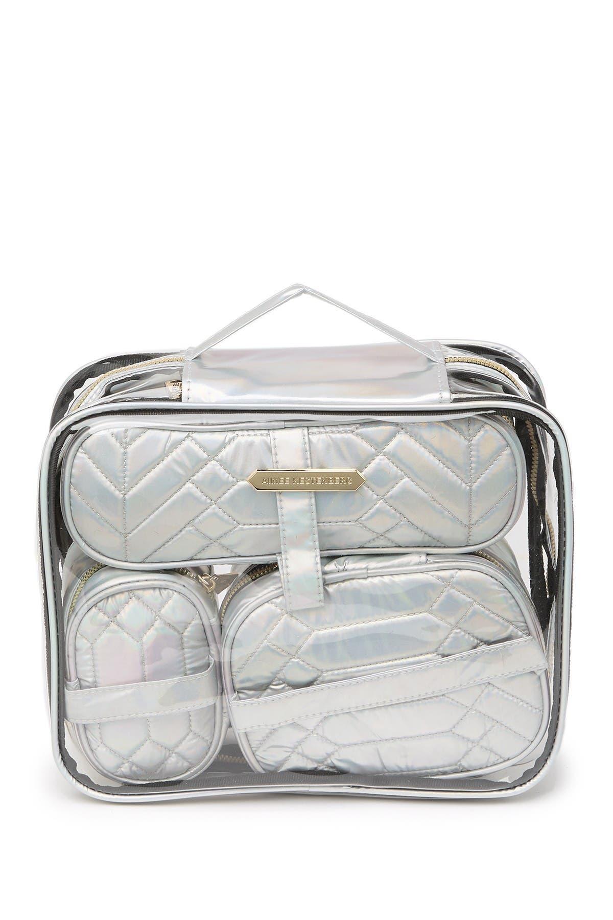 Aimee Kestenberg | Hazel Transparent Cosmetic Travel Case ...