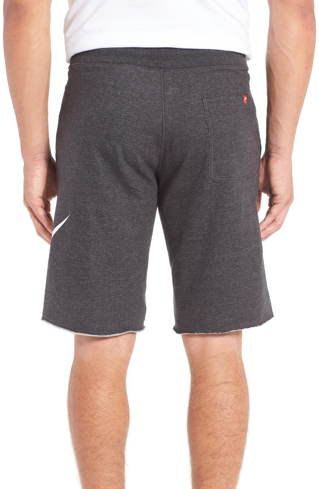 ,                             'NSW' Logo French Terry Shorts,                             Alternate thumbnail 15, color,                             032
