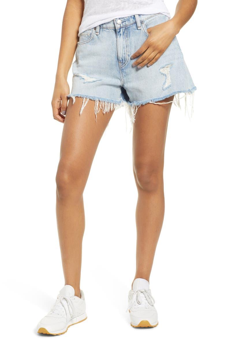 HUDSON JEANS Jade Cutoff Boyfriend Shorts, Main, color, 453