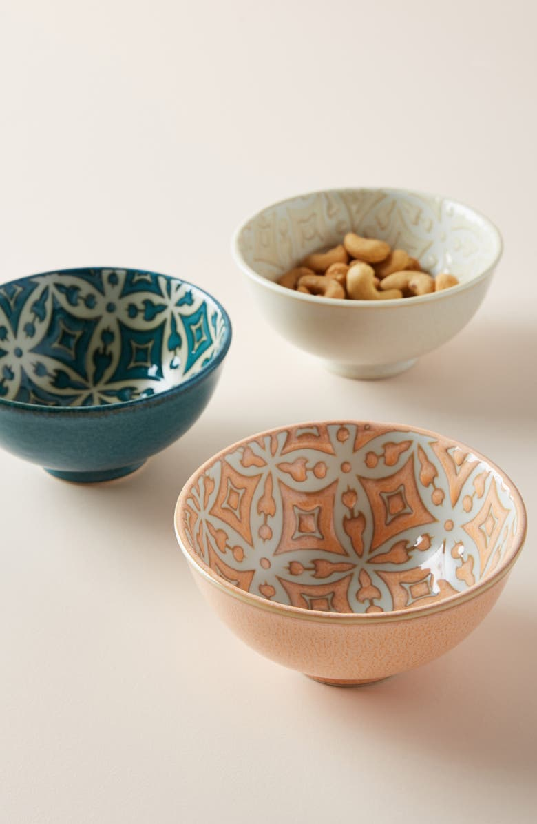 ANTHROPOLOGIE Morocco Nut Bowl, Main, color, WHITE