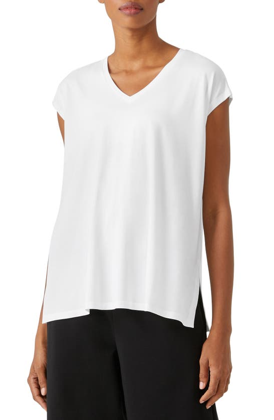 EILEEN FISHER Tops V-NECK BOXY TOP
