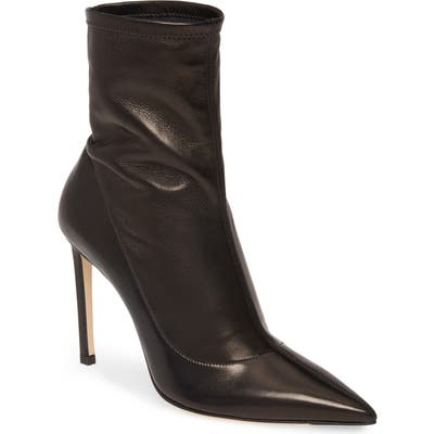 Jimmy Choo Brin Slouch Pointed Toe Stiletto Bootie, Black