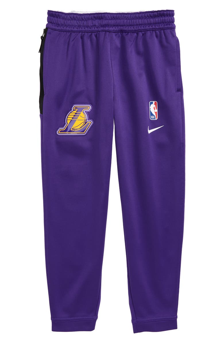 NIKE NBA Los Angeles Lakers Dry Sweatpants, Main, color, COURT PURPLE
