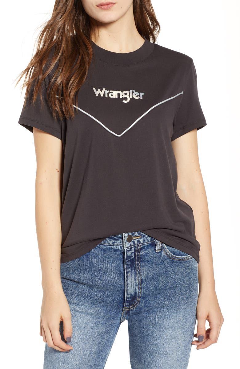 WRANGLER '80s Logo Tee, Main, color, 020