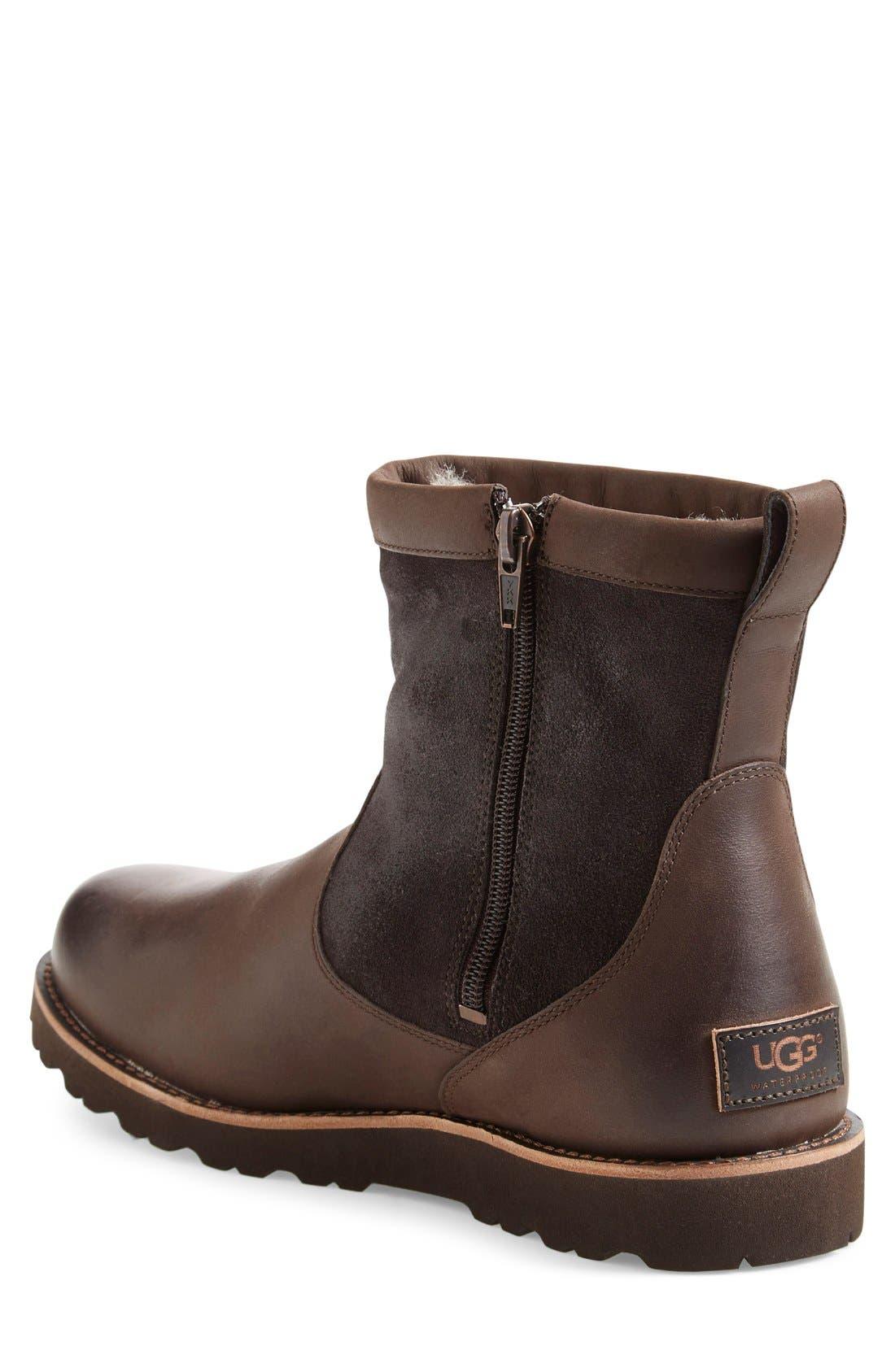 ,                             Hendren TL Waterproof Zip Boot,                             Alternate thumbnail 2, color,                             STOUT