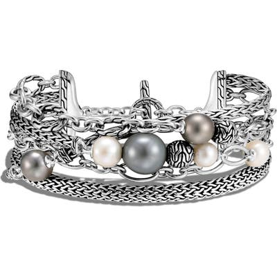 John Hardy Classic Chain Multi Row Toggle Bracelet