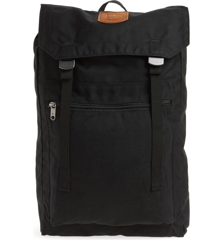 FJÄLLRÄVEN Foldsack No.1 Water Resistant Backpack, Main, color, JET BLACK