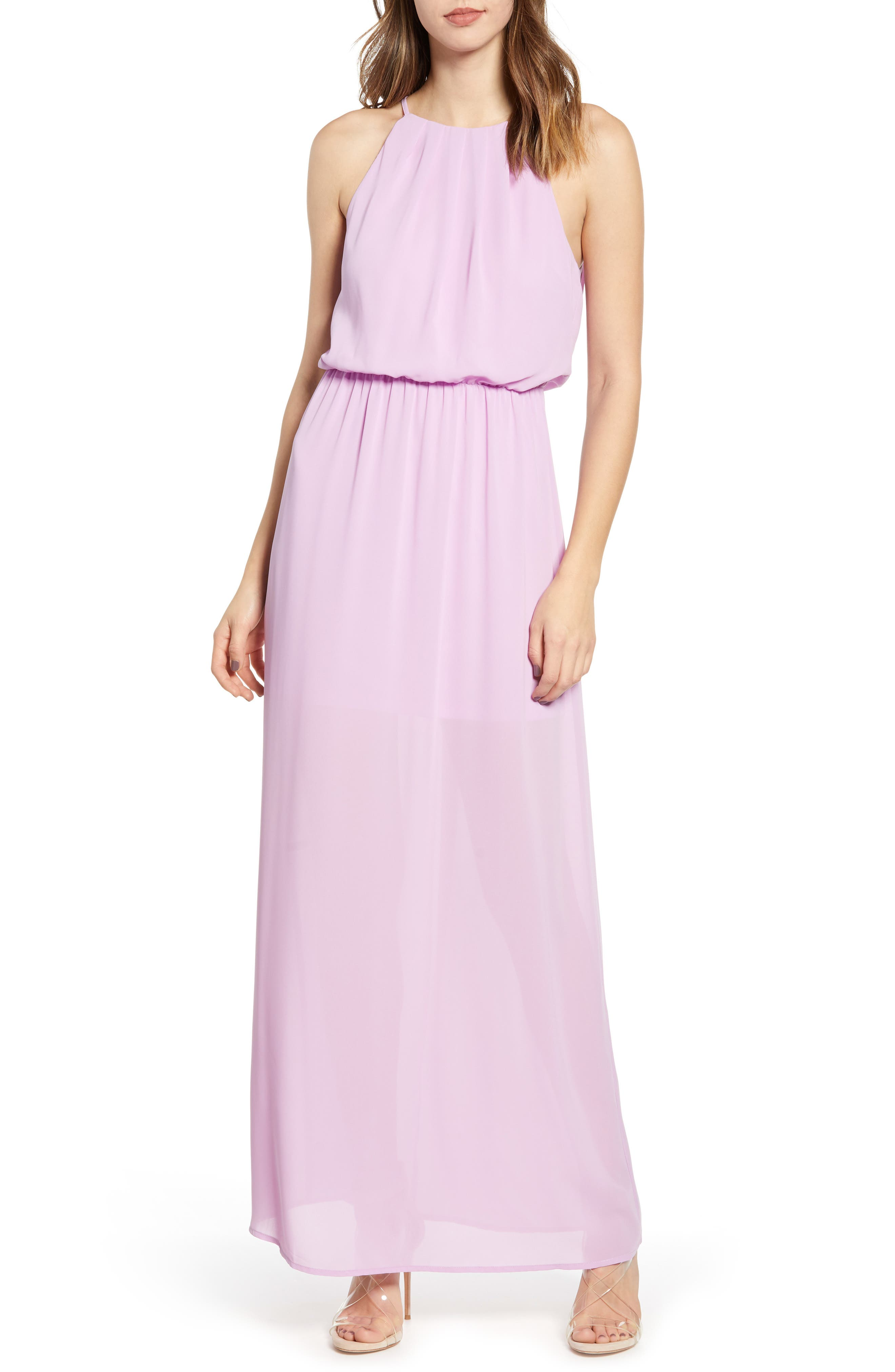 ,                             Blouson Maxi Dress,                             Main thumbnail 8, color,                             500