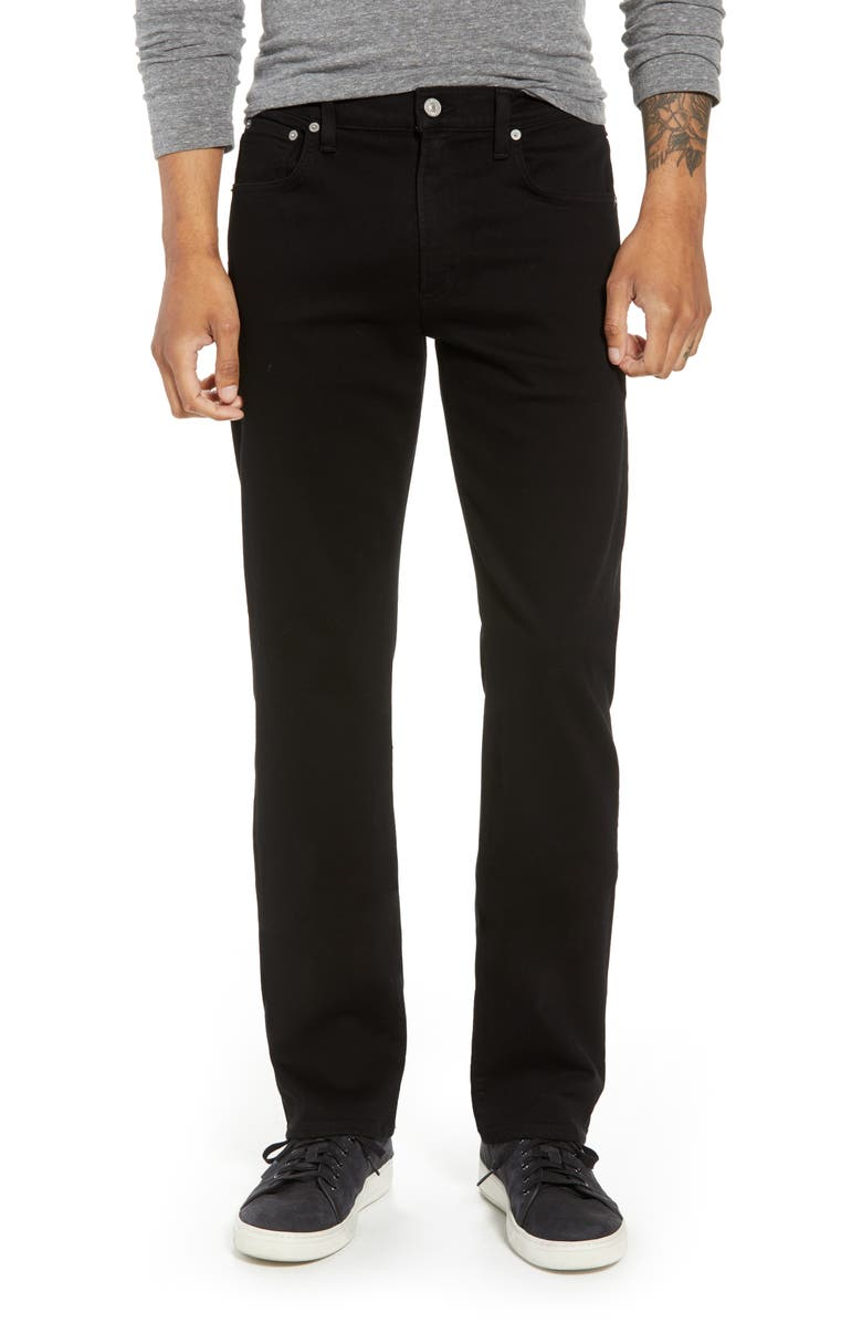 CITIZENS OF HUMANITY PERFORM - Sid Straight Leg Jeans, Main, color, PARKER