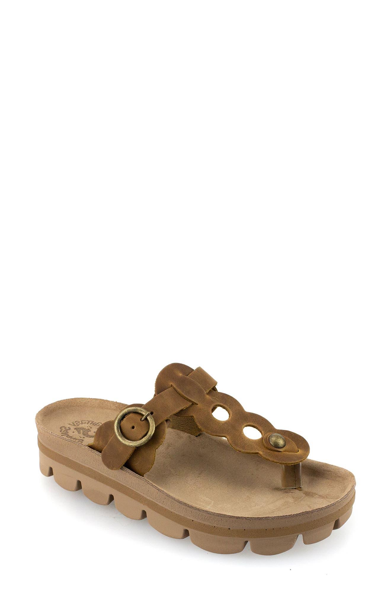 Emma Platform Slide Sandal