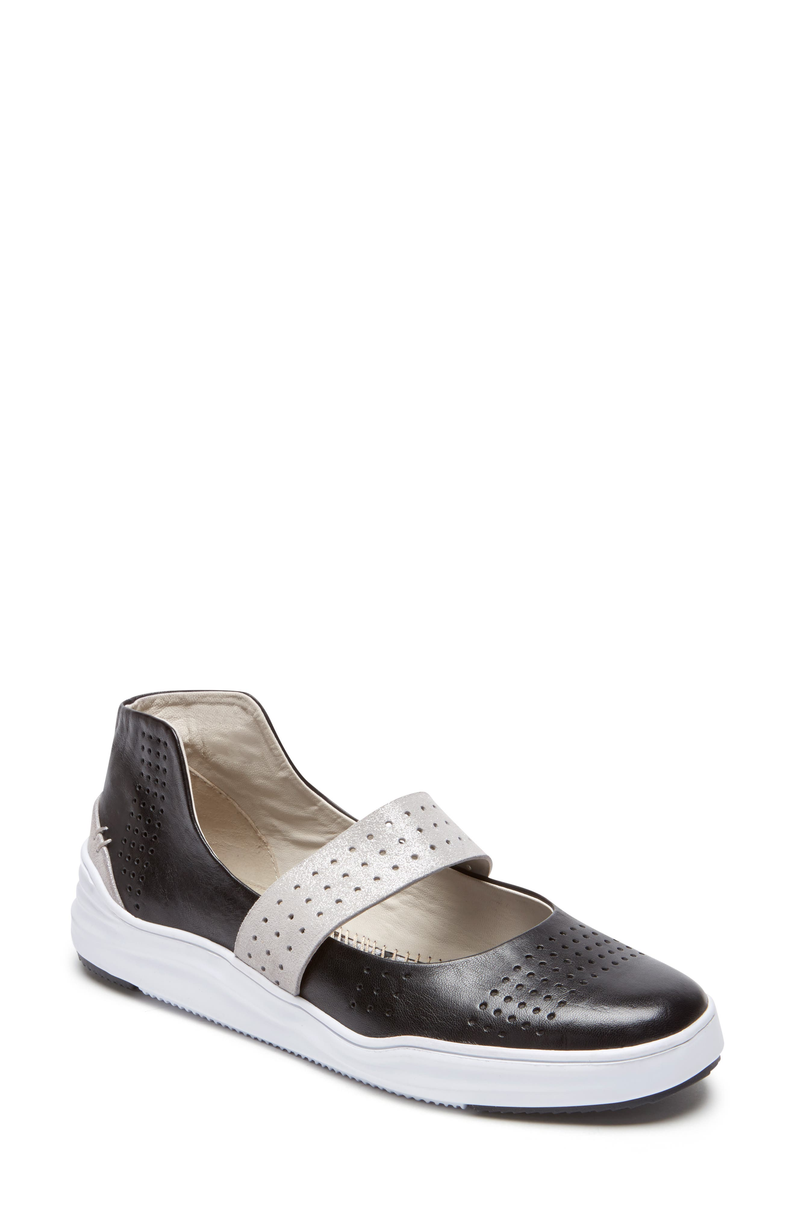 Rockport Cobb Hill Cady Mary Jane Sneaker, Black