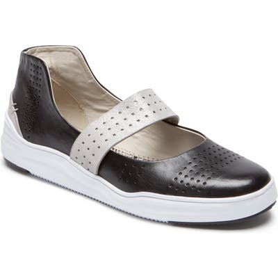 Rockport Cobb Hill Cady Mary Jane Sneaker, Black
