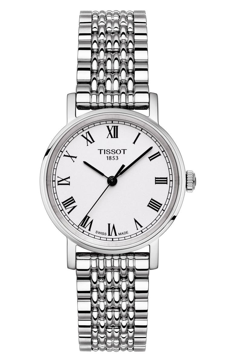 TISSOT Jungfraubahn Limited-Edition Everytime Bracelet Watch, 30mm, Main, color, 040