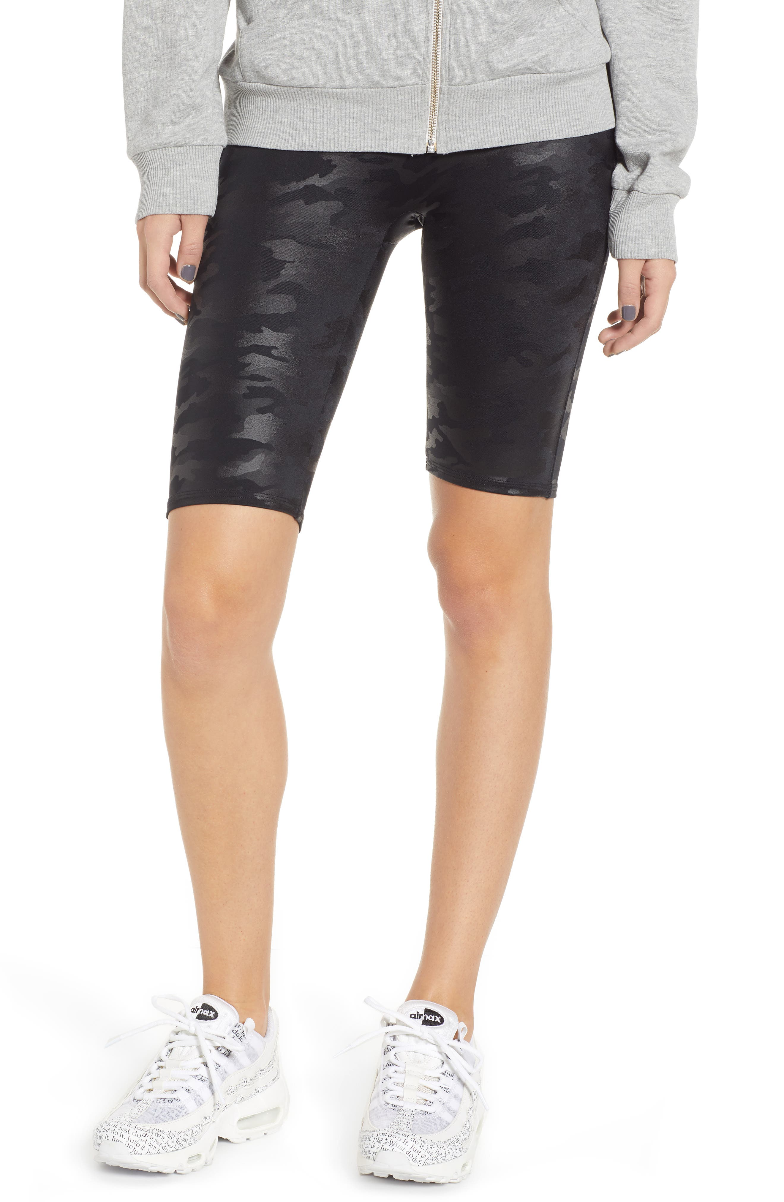 Women's Spanx Faux Leather Bike Shorts