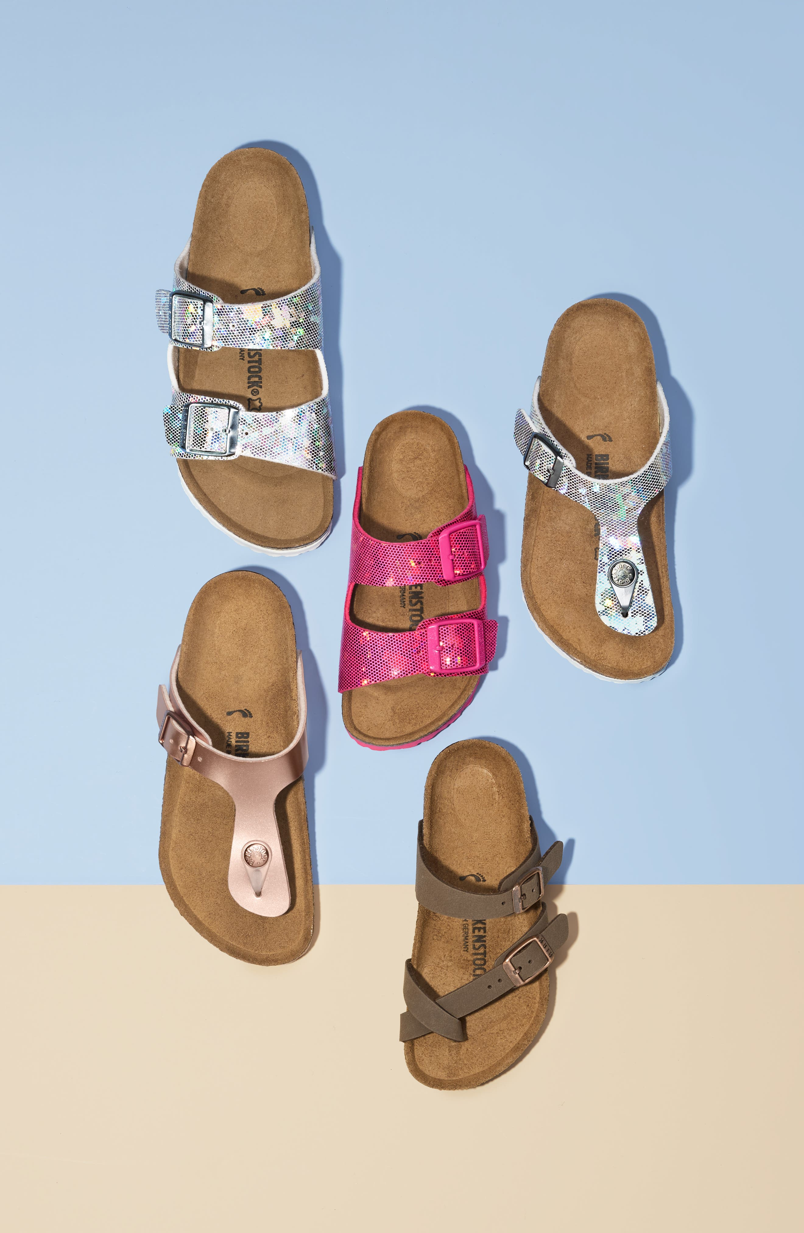 ,                             Mayari Birko-Flor<sup>™</sup> Sandal,                             Alternate thumbnail 7, color,                             SILVER