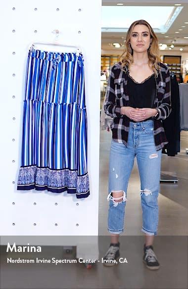 x Hi Sugarplum! Portofino Tiered Midi Skirt, sales video thumbnail