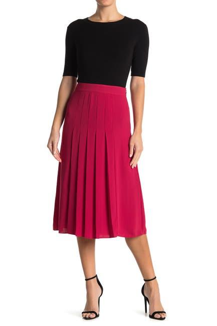 Image of REISS Cleona Box Pleated Skirt