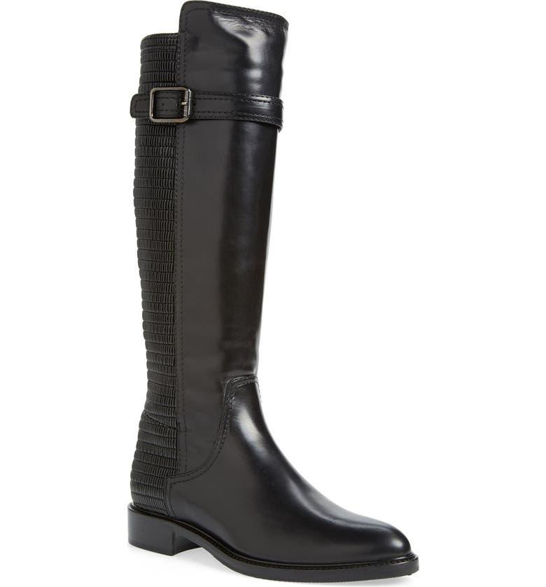 AQUATALIA 'Gael' Weatherproof Riding Boot, Main, color, 001