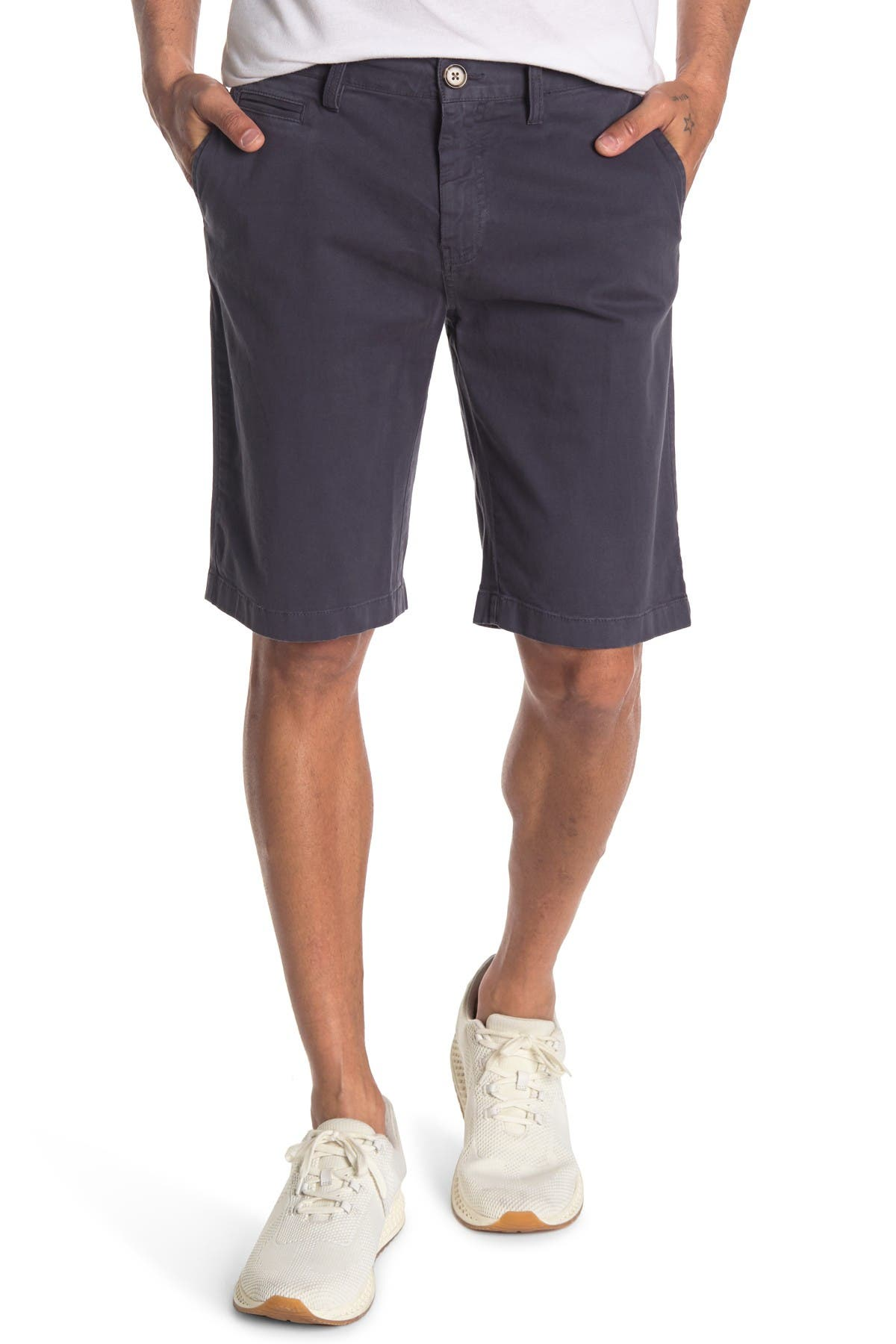 Image of 14th & Union Garment Dye Stretch Shorts
