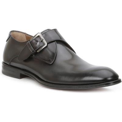 Bruno Magli Lucio Monk Strap Shoe, Grey