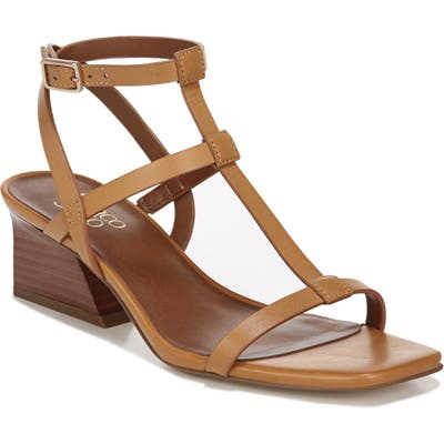 Franco Sarto Chopra T-Strap Sandal, Beige