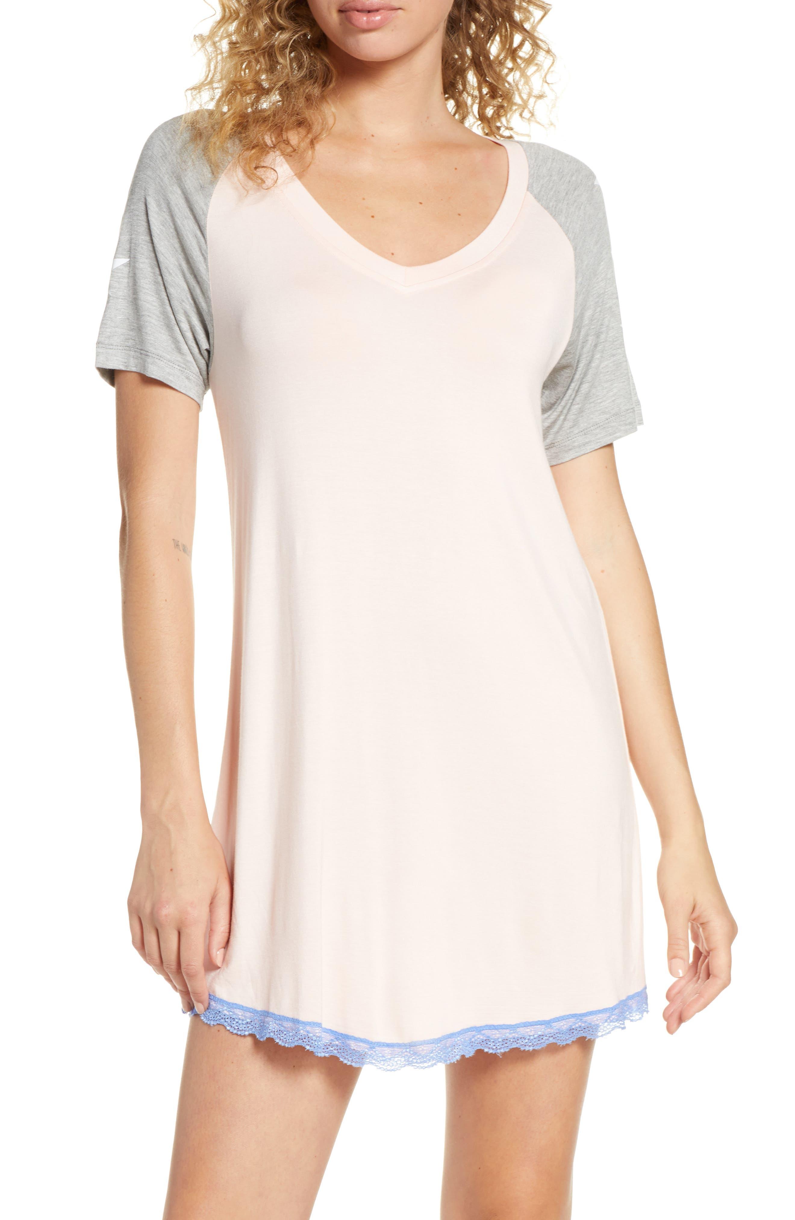 Honeydew Intimates All American Sleep Shirt, Pink
