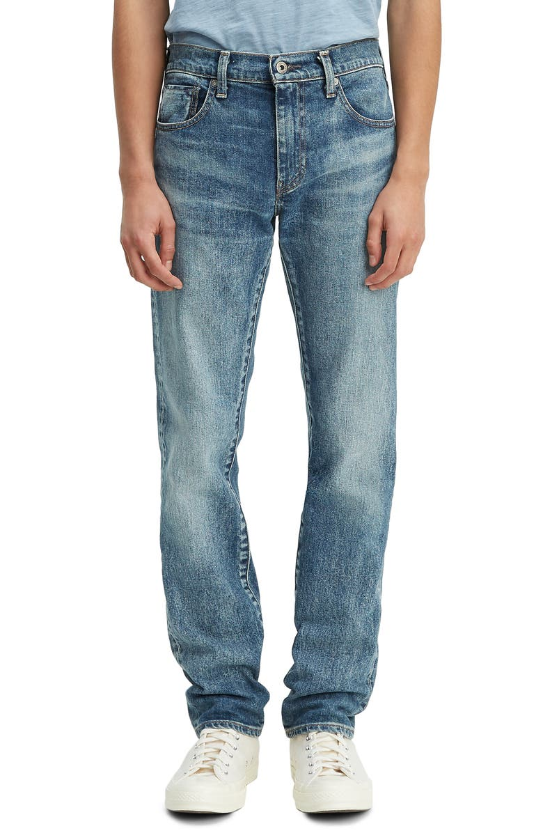LEVI'S<SUP>®</SUP> MADE & CRAFTED<SUP>™</SUP> Levi's<sup>®</sup> Made In Japan 511<sup>™</sup> Slim Fit Selvedge Jeans, Main, color, WESTWARD SUN