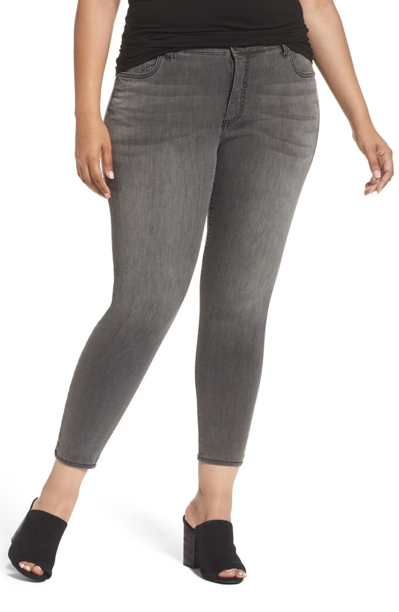KUT FROM THE KLOTH Donna High Waist Skinny Jeans, Main, color, MERITORIOUS W/ G