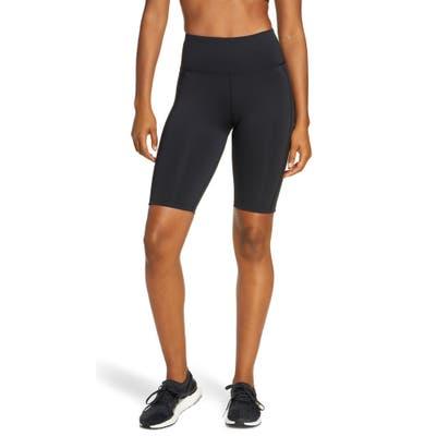 Adidas X Universal Standard 3-Stripes High Waist Shorts, Black
