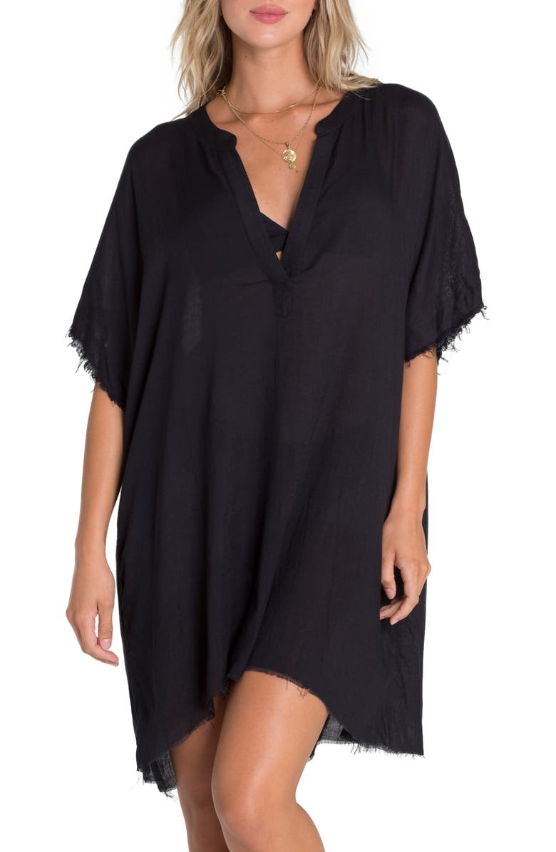 BILLABONG Seek and Find Cover-Up Tunic, Main, color, 001