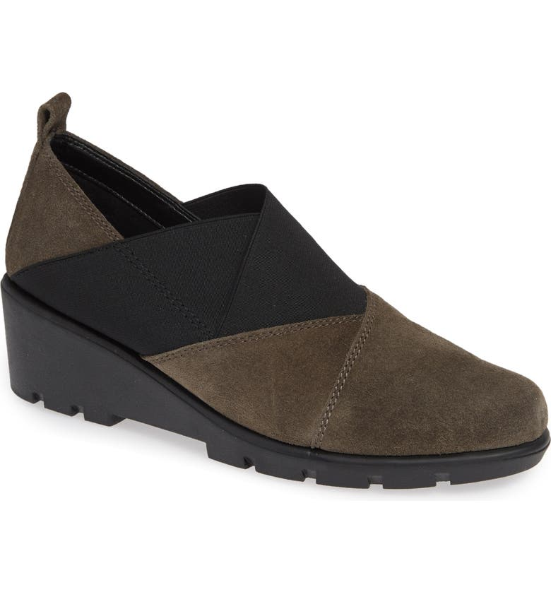 THE FLEXX Crosstown Slip-On Shoe, Main, color, BROWN SUEDE